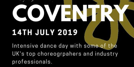 Coventry Intensive Dance Day tickets