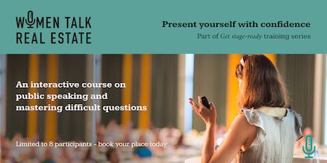 Present yourself with confidence & master difficult questions, 1 October tickets
