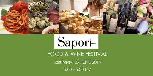 Sapori Food & Wine Festival