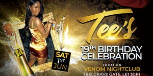 Tee's 19th Birthday party/ celebrations