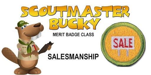 Salesmanship Merit Badge - Class 2019-08-20 - Tuesday AM - Scouts BSA