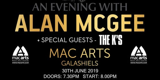 An evening with Alan McGee (Creation Records) + special guests The K's
