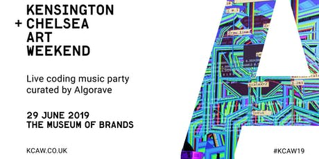 Live Coding Music Party curated by ALGORAVE tickets