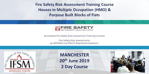 Manchester. HMO & Residential Premises Fire Safety Risk Assessment Course.