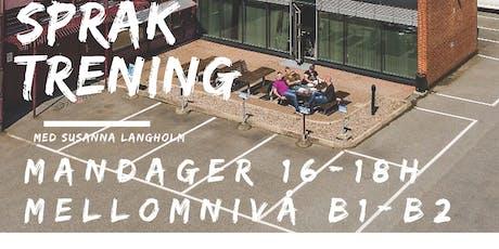 Språktrening Bærum Int Hub B1-B2 nivå tickets