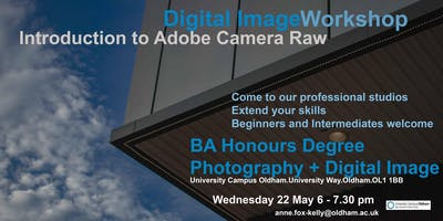 Introduction to Adobe Camera RAW - Workshop  Beginners and Intermediates