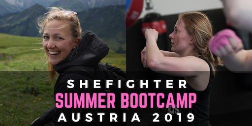 SheFighter Summer Bootcamp: Austria 2019