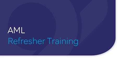 AML Refresher Training tickets