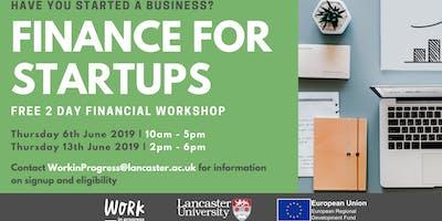 Finance for Startups Workshop