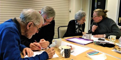 Poetry and Dementia Workshop with Victoria Field