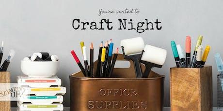 Craft Night tickets