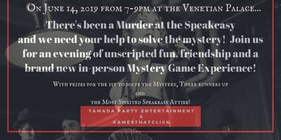 The Mystery of the Speakeasy Stabbing