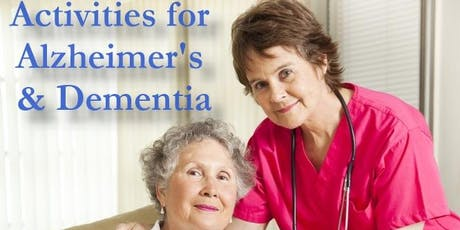 Activity Programme for Alzheimer's' and Dementia 2 Days tickets