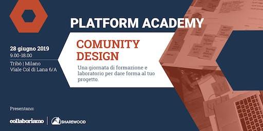 Platform Academy - Community design: attivazione e coinvolgimento degli utenti in una piattaforma