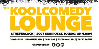 """The KOOLCOMEDY Lounge"" (FREE Comedy Show) @The Peacock 6/6/19"