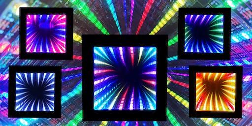 Bau eines 3D-LED-Spiegels nach dem Infinity-Mirror-Prinzip