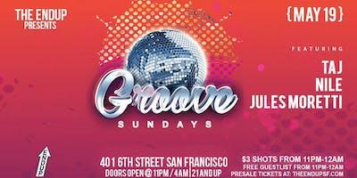 Groove Sundays feat. Nile, Jules Moretti & Taj