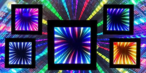 FabLabKids: Gemeinsam bauen wir Deinen 3D-LED-Rainbow-Spiegel