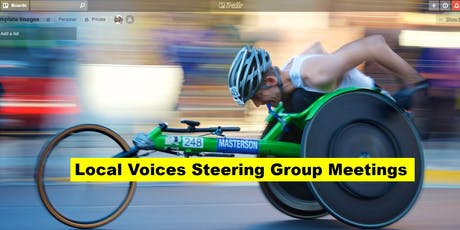 Local Voices Steering Group Meeting - Mon 8th July tickets