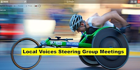 Local Voices Steering Group Meeting - Mon 13 Jan 2020 tickets