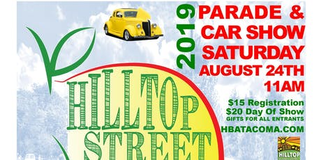 Hilltop Street Fair Parade & Car Show tickets