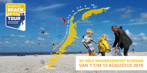 Boskalis Beach Cleanup Tour 2019 - N14. Wijk aan Zee - Velsen-Noord