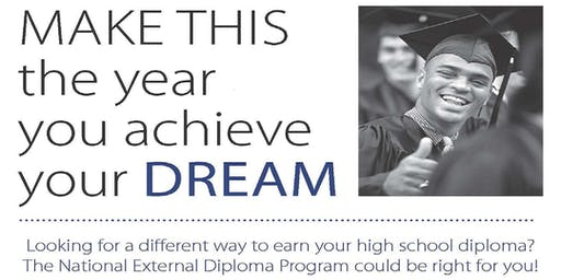 NEDP Information Session (Adult HS Diploma Alternative to the GED) Greensboro