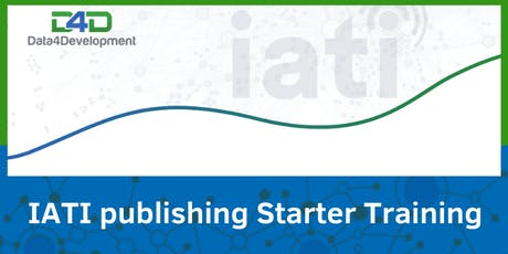 D4D IATI publishing starter training 2019 tickets