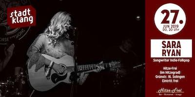 «stadtklang» m. Sara Ryan (IRL) / live im Hitzef