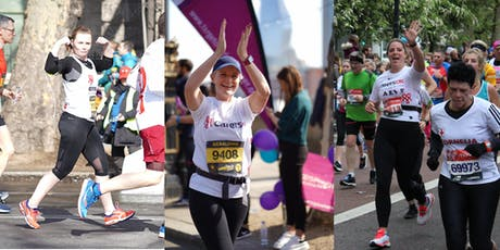 London Marathon 2020 for Carers UK tickets
