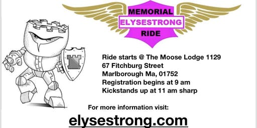 5th Annual ELYSESTRONG Memorial Ride