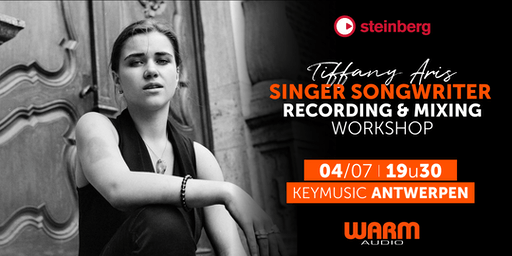 Singer Songwriter Recording & Mixing Workshop KEYMUSIC Antwerpen