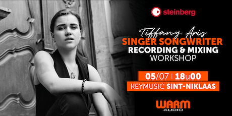 Singer Songwriter Recording & Mixing Workshop KEYMUSIC Sint-Niklaas tickets