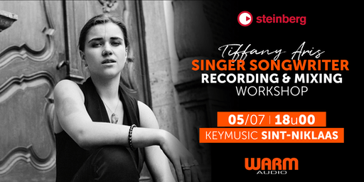 Singer Songwriter Recording & Mixing Workshop KEYMUSIC Sint-Niklaas