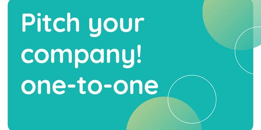 Ondernemerstraject sessie 4: Pitch your company, one-to-one.