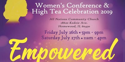 Empowered Women's Conference & High Tea Celebration 2019
