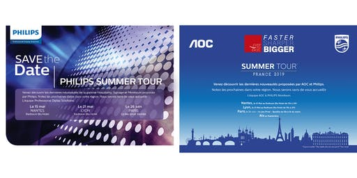 Philips AOC Summer Tour