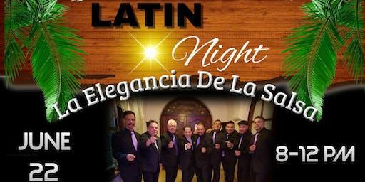 Latin Night with La Elegancia de la Salsa