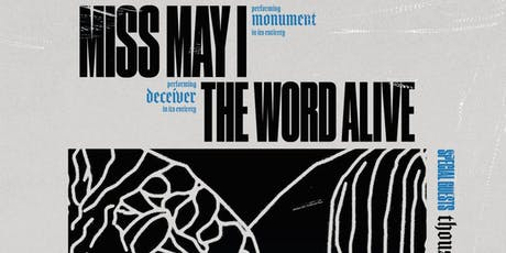 Miss May I with The Word Alive tickets