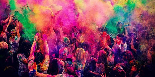 HOLI IN THE CITY : Sat March 7th - NYC's Biggest Festival of Colors Party