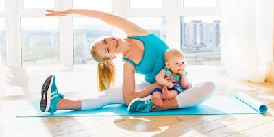 Mommy and Me Yoga!