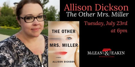 An Evening with Allison Dickson tickets