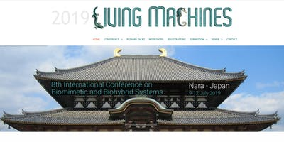 Living Machines 2019. Conference on Biomimetics and Biohybrid Systems