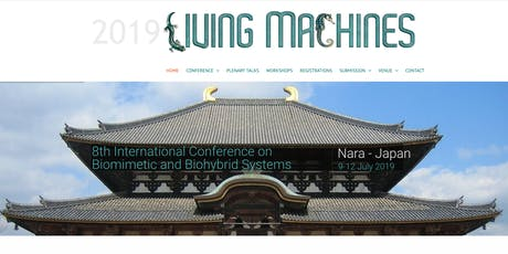 Living Machines 2019. Conference on Biomimetics and Biohybrid Systems tickets
