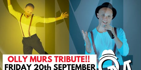 Olly Murs Tribute Night - with 2 course meal tickets