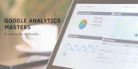 Google Analytics Masters - Dansk tickets