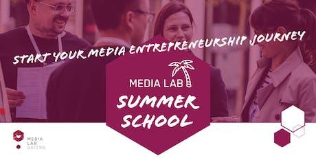 Media Lab Summer School tickets