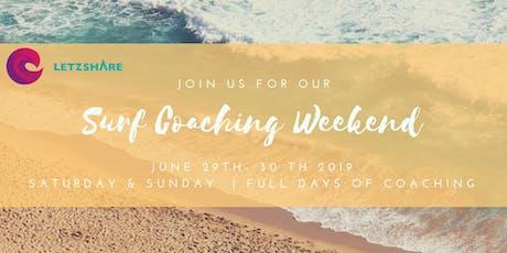 June Surf Coaching Weekend tickets