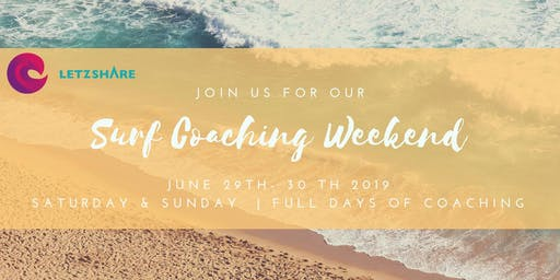 June Surf Coaching Weekend