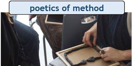 technē AHRC Congress July 2019: Poetics of Method tickets